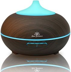 Essential Oil Diffuser Dark Wood  Aromatherapy Diffuser  Birthday Gift Edition  by Zen Breeze -- To view further for this item, visit the image link.-It is an affiliate link to Amazon.