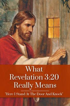 It's a popular verse, but it doesn't mean what most people think. Let's look at the real meaning of Revelation Bible Lessons For Kids, Bible For Kids, Bible Scriptures, Bible Quotes, Christian Life, Christian Women, Christian Living, Christian Quotes, Inspirational Verses