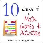 Math Activities with printable