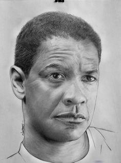 Denzel Washington by Cipta Stevano Gunawan {from Indonesia}