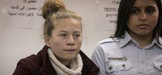 Huit mois de prison ferme pour Ahed Tamimi  ;les NAZIS SIONISTES FONT CE QU'ILS VEULENT DES PALESTINIENS ET LES PAYS DE GRANDE DÉMOCRATIE APPROUVENT (CRIMES CRIMES CRIMES DES SIONISTES ILLÉGALEMENT INSTALLER EN PALESTINE )