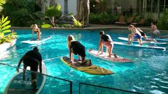 SUP Yoga - Great for