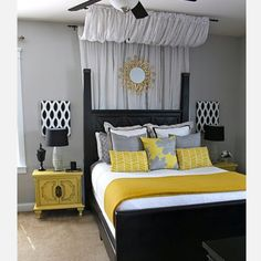 Grey black and yellow <3