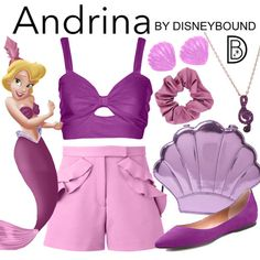 DisneyBound is meant to be inspiration for you to pull together your own outfits which work for your body and wallet whether from your closet or local mall. As to Disney artwork/properties: ©Disney Disney World Outfits, Disney Themed Outfits, Disney Dresses, Disney Clothes, Disney Inspired Fashion, Disney Fashion, Cartoon Fashion, Disney Best Friends, Estilo Disney