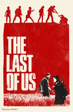 The Last Of Us variant poster by William Henry Had a few people ask for this print in red and I liked how it turned out, so I decided to make it available to everyone. Prints are available on Etsy ...