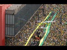 A maior manifestação da história do Brasil na avenida Paulista em São Paulo