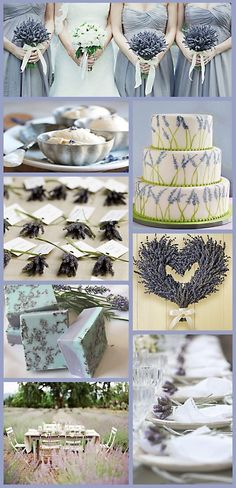 Lavender Wedding Theme - UK wedding blog - My Wedding Ideas BlogUK wedding blog My Wedding Ideas Blog