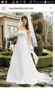 My dress front view