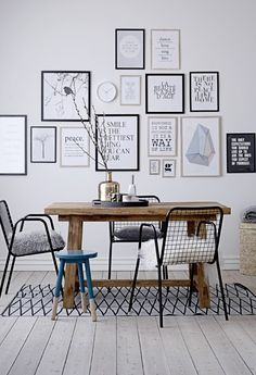 Let the words on your walls inspire you.