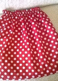 Kup mój przedmiot na #vintedpl http://www.vinted.pl/damska-odziez/spodnice/14463597-sliczna-czerwona-spodniczka-w-urocze-biale-kropeczki