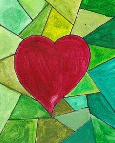 Budding Artists: Valentine's Day Hearts