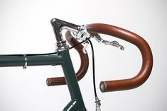leather handlebar, Brother Cycles.