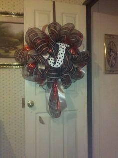 Initial wreath $40