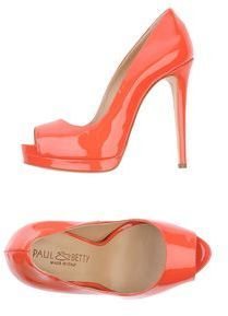 $142, Paul Betty Pumps by Paul&Betty. Sold by yoox.com. Click for more info: http://lookastic.com/women/shop_items/126948/redirect