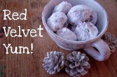 Red Velvet Snowballs | make it give it