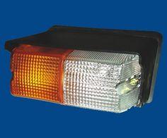 CAR HEAP LAMP   Manufacturer of HL-416 Front Lamp Assly Eicher Tractor N/M Rectangular ...