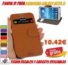 #samsung #galaxy #note 2 #novedades #accesorios #moviles #telefonia #ofertas #descuentos #fundas #carcasas #protectores  funda con ID identificador de llamadas para Samsung Galaxy NOTE2. Fundas de cuero con soporte para Samsung Galaxy NOTE II. Fundas baratas para móviles con diseños originales. http://www.yougamebay.com/es/product/funda-samsung-galaxy-note-2--note-ii-con-id-identificador-de-llamadas