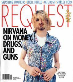 "Request Magazine, November 1993, ""Nirvana on Money, Drugs, and Guns"""