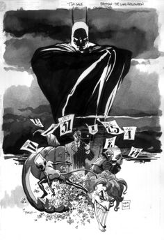 Batman: The Long Halloween by Tim Sale