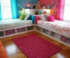 Girls Bedroom love this idea