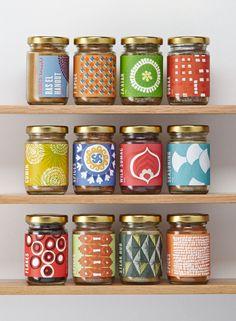 Here Design Arabica. Pretty Jars #DesignItOn #Packaging