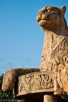 palace gargoyles   Cheetah gargoyle, Palace of the Lost City, Sun City