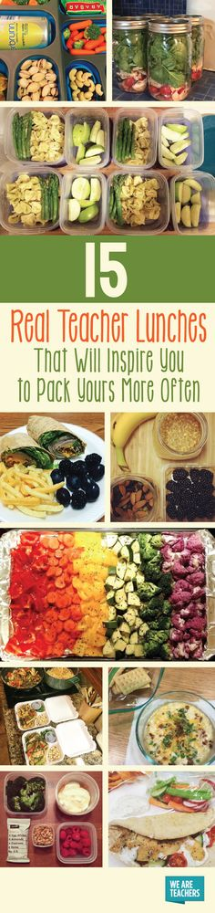 15 Real Teacher Lunches That Will Inspire You to Pack Yours More Often - WeAreTeachers