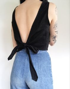 Wrap Tank in Linen — Frond SMALL Length: about inches Bust (armpit to armpit): about inches Armpit holes: about inches Diy Fashion, Ideias Fashion, Fashion Outfits, Fashion Tips, Fashion Design, Punk Fashion, Lolita Fashion, Fashion Boots, Sewing Clothes