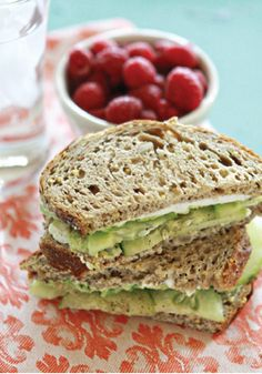 This Cucumber and Avocado Sandwich recipe is refreshing, delicious, and easy-to-make!
