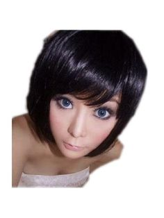 GOOACTION Dark Brown wig Straight Short Hair Replacement Lace Front Wigs by GOOACTION. $12.98. The size is adjustable,it can fit on most people.you can adjust the hooks inside the cap to the correct size to suit your head.. 100% Top Quality & Brand NEW. 100% Japanese Kanekalon (high quality one) made fiber wigs. *Package: 1 wig + 1 free wig cap. It's fit for your Parties,Cosplay & Daily Use.. Easy to care for and Wahs. Wash with normal shampoo in warm but not hot water. Sha...