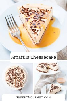 Amarula cheesecake is a South African style no-bake cheesecake using the Amarula liqueur from the marula tree. It carries creamy notes of vanilla & caramel. #Cheesecake #Amarula #Desserts #DessertRecipes #SweetTreats