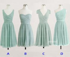 cheap bridesmaid dresses, cheap prom dresses, chiffon bridesmaid dresses, dresses for prom, short bridesmaid dresses, RE403
