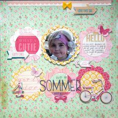 6 circles, charming - Scrapbook.com