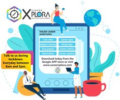 Chat to a career counselor during lockdown. Career Quiz, Career Help, Career Advice, Google App Store, Past Papers, Career Options, Study Tips, Discover Yourself, Motivation