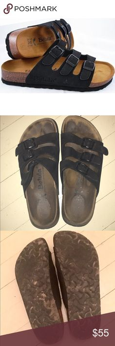 Betula Sandals In great used shape. A little dirty in places but in great shape. No tears, no rips. Birkenstock Shoes Sandals