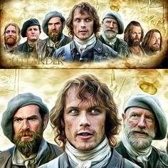 The Highlanders....#Outlander #jamiefraser #kingofmen #dougalmackenzie #Murtagh #Ross #Angus #Rupert #prestonpans #culloden #highlands #scotland #forastera #dianagabaldon #samheughan #duncanlacroix #grahammctavish #scottkyle #stephenwalters #grantorourke #gregorfirthscott