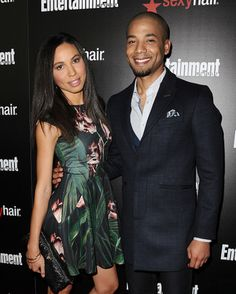 Jurnee Smollett and actor Jussie Smollett attend the Entertainment Weekly celebration honoring nominees for the Screen Actors Guild Awards at Chateau Marmont on January 24, 2015