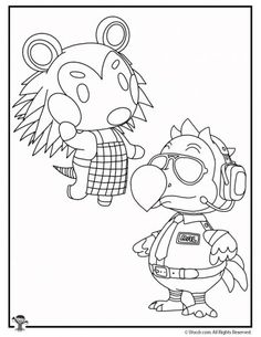 11 Excellent Coloriage Animal Crossing Collection ...