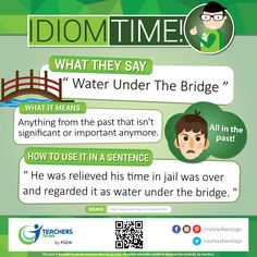 Create a better conversation with this idiom. Visit us @ www.teachers-to-go.com
