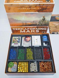 Terraforming Mars (BGBoost Version) Foamcore Insert (pre-assembled)