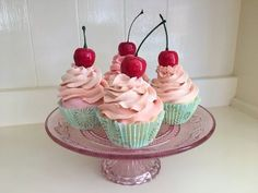Fake Cupcakes, Fake Cake, Cupcake Cakes, Diy Cupcake, Christmas Cupcakes Decoration, Candy Decorations, Giant Candy Cane, Cupcake Youtube, Christmas Candy
