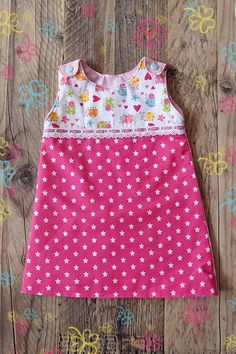 de rechte jurk Patroon hollands jurkje droomfabriek