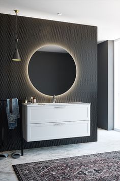 Home Projects, Bathroom Lighting, Modern Bathrooms, Mirror, Classic, House, Inspiration, Furniture, Design