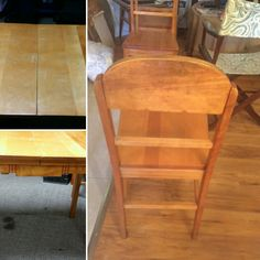 Restoration of a pine table& chair set Table And Chairs, Dining Chairs, Pine Table, Restoration, Furniture, Home Decor, Homemade Home Decor, Home Furnishings, Dining Chair