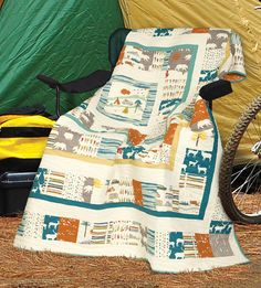 Road Trip by Melissa Lunden (from Quilt Trends Magazine Summer 2014 issue)  www.quilttrendsmag.com