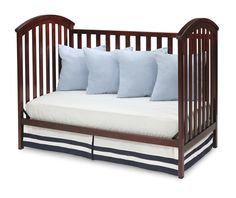 Baby J S Crib Delta Chalet 4 In 1 Lifetime Crib White