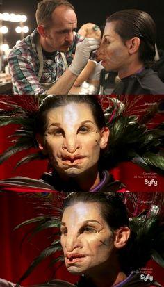 Face Off - Season 09, Episode 10   Spotlight Challenge: Freak Show   The ONE top look and winner: Ben's Human Peacock