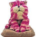 Bagpuss, a disturbing cat, really!