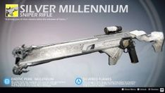 Silver Millennium (Exotic Sniper Rifle Concept) by Rageblade66