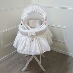 Baby Cribs, Kids And Parenting, Bassinet, Etsy, Vintage, Furniture, Collection, Home Decor, Love